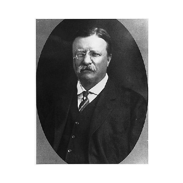 Theodore Roosevelt Black and White