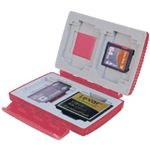 Gepe Extreme Red Memory Card Case for CompactFlash, MMC/SD, Memory Sticks, & Smart Media