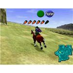 Link and Epona in Ocarina of Time