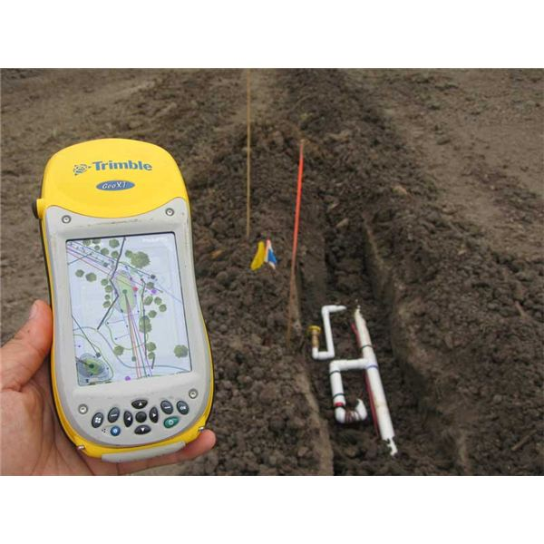 Electronic Measuring Equipment : Land survey or surveying equipment used new
