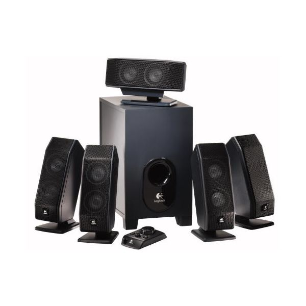 The Logitech X-540 is the best inexpensive 5.1 pc speaker system