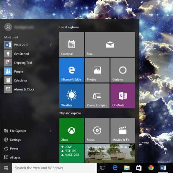 Return of the Start Menu