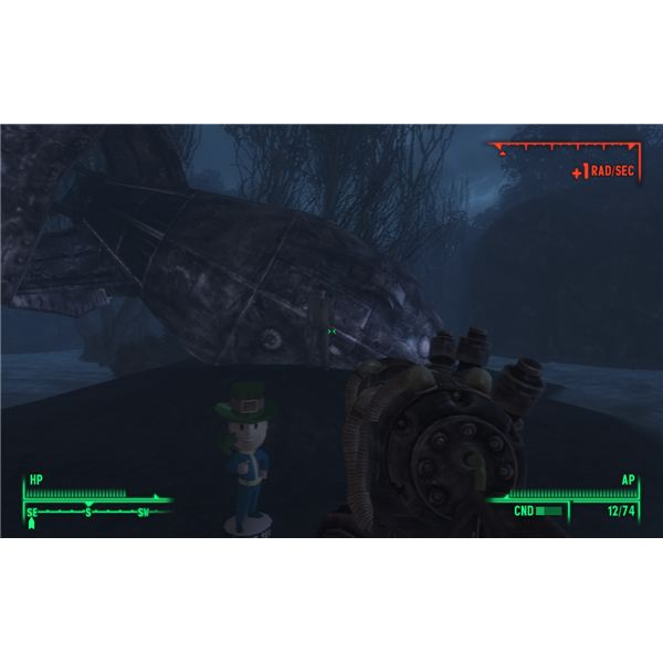 Fallout 3: Point Lookout - Just One of the Creepy Parts of Walking with Spirits