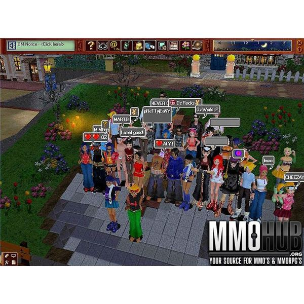 Oz World is a popular Social MMOG