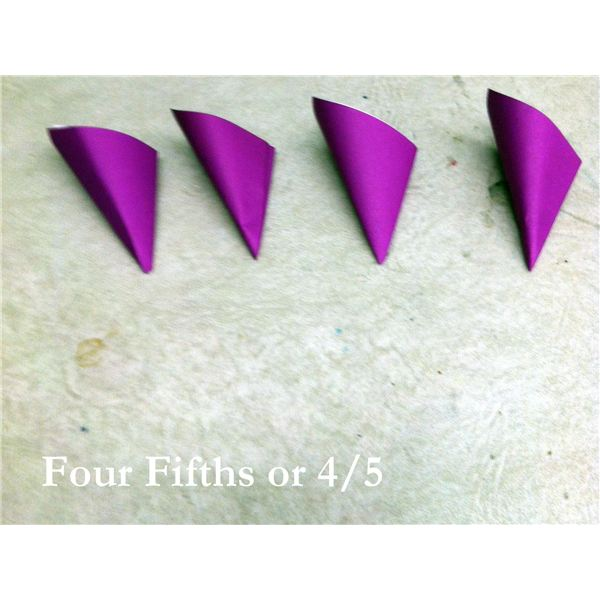 Four Fifths or 4/5