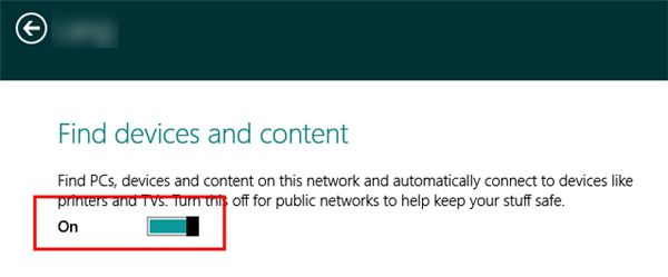 how to change from public to private windows 8