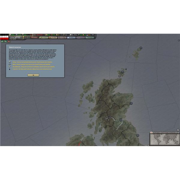 Hearts of Iron III's Sparse Tutorial