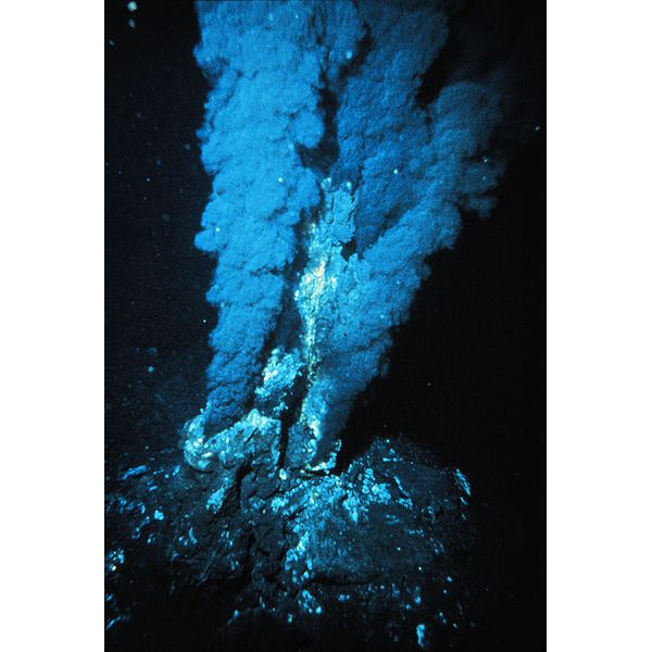 Hydrothermal vent - released into public domain