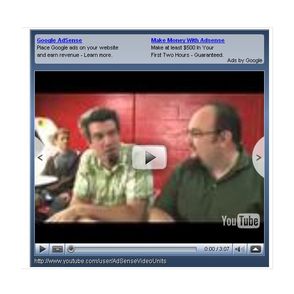Test Google AdSense for Video, and Learn How to Use Google AdSense for Video.