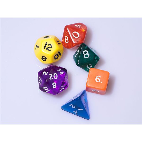 Roll Playing Dice Game