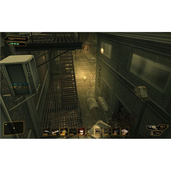 Deus Ex: Human Revolution Walkthrough - Derelict Row