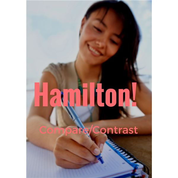 Alexander Hamilton Compare and Contrast Lesson Plan