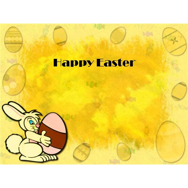 Happy Easter Template2