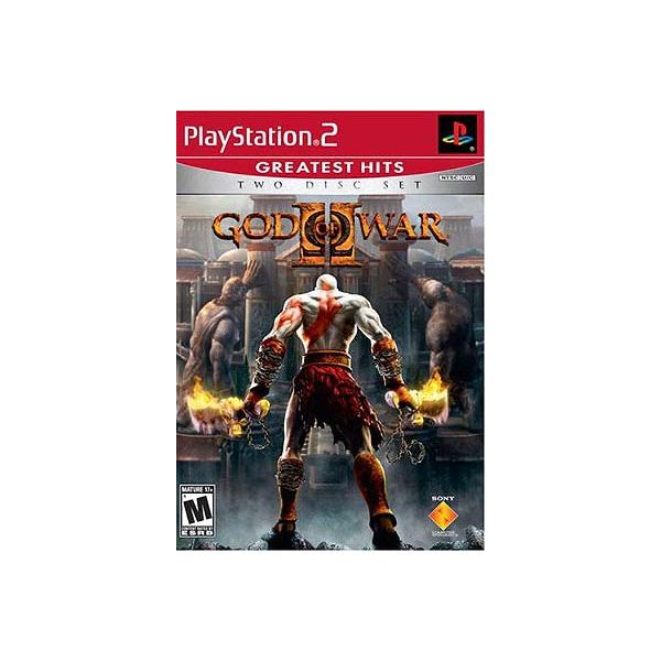 God of War 2 boxshot