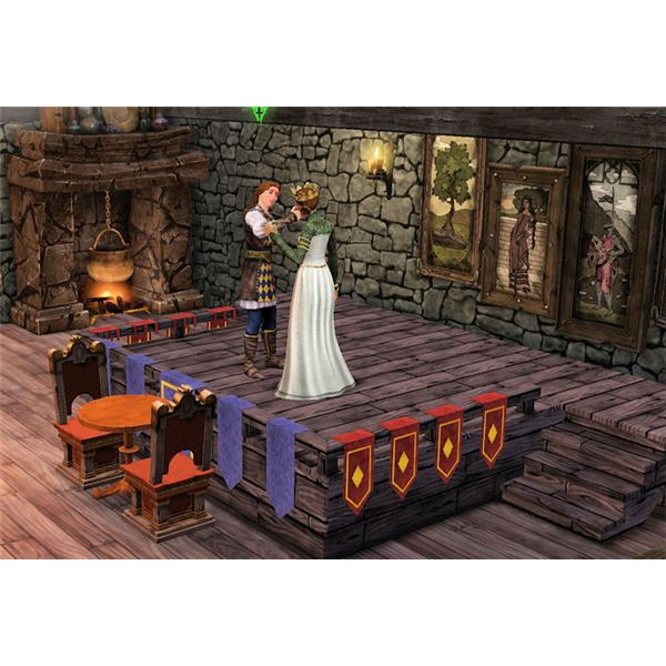 The Sims Medieval plays onstage