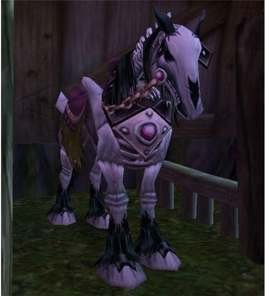 Skeletal Horse Mount sold in Brill