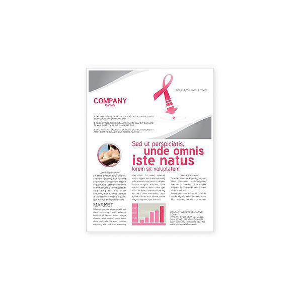 breast cancer brochure template - 8 great microsoft publisher newsletter templates