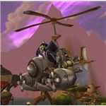 A World of Warcraft Flying Machine