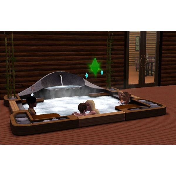 The Sims 3 Serenity Hot Tub