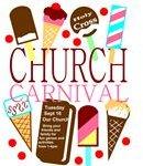 Church Carnival Flyer Template 3 Ice Cream
