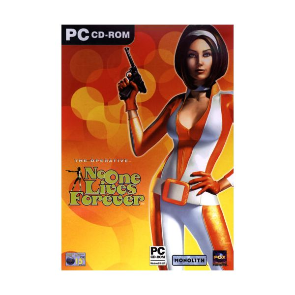 No One Lives Forever Boxshot: Cate Archer , one of the most popular female video game characters