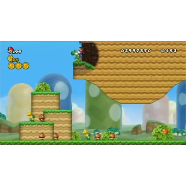 Guide To Warp Cannon Locations In New Super Mario Bros Wii World 1 2 3 4 5 And 6 Game Yum