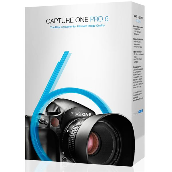 OS X RAW Photo Editing Software: Capture One