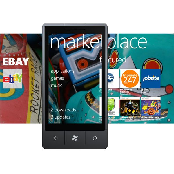 Windows Phone 7: update apps in the Marketplace hub