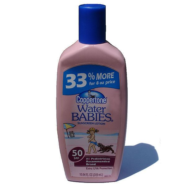 Baby-Sunscreen lotion