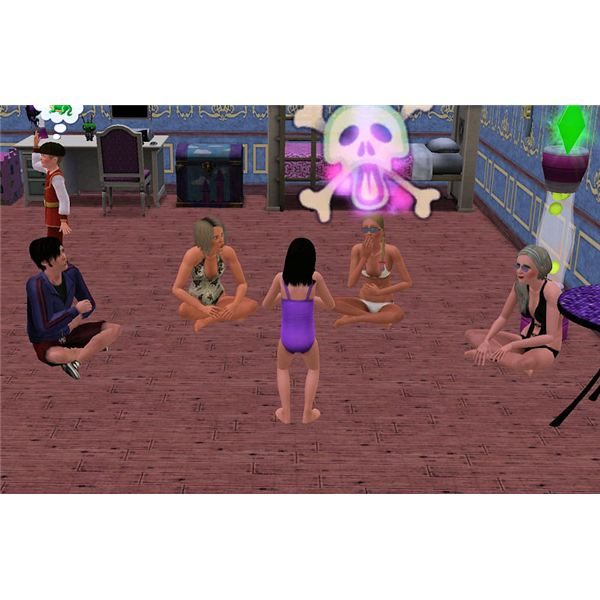 The Sims 3 ghost story by child