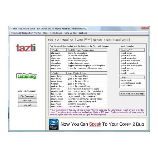Tazti for Windows 7