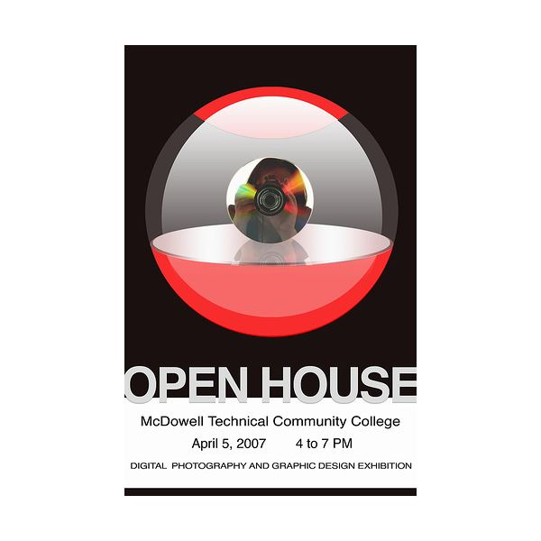 Open House Flyer For Community College