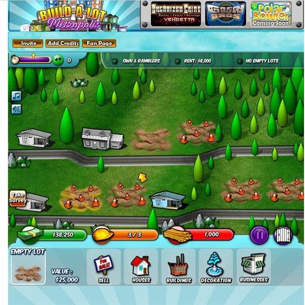 Facebook Games: Build-A-Lot Metropolis