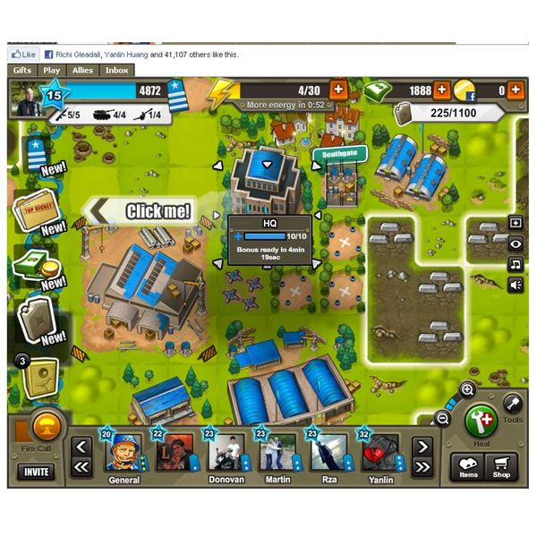 Army Attack Guides: Lead your forces to Victory on Facebook.
