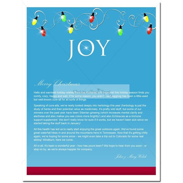 christmastime clip art newsletter template