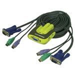 Iogear Miniview 2-Port KVM Switch