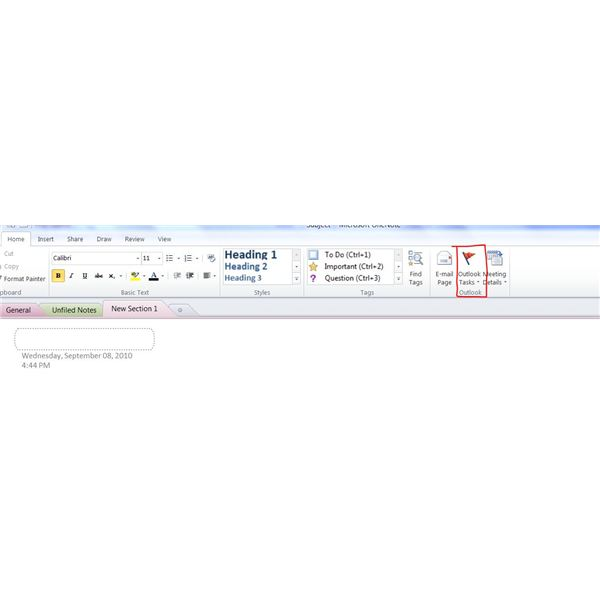OneNote Instructions For Intermediate Level Microsoft Office Users