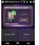 WiFi remote access screenshot
