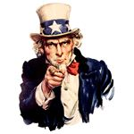 Uncle Sam pointing finger Wikimedia Commons