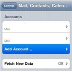 Mail Contacts Calendar - Excite Mail on iPhone
