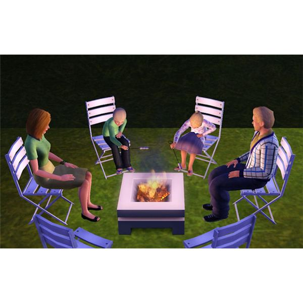 The Sims 3 Firepit