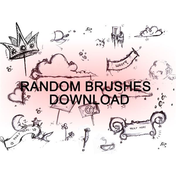 RANDOM BRUSHES by dweddle