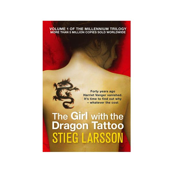 The Girl with the Dragon Tattoo - Lisbeth Salander's Early Book Cover