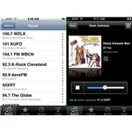 AOL radio app for iPhone