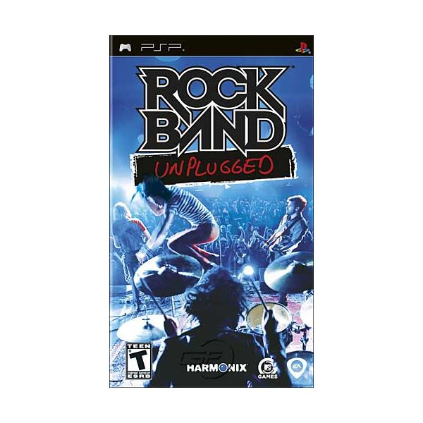 Rock Band Unplugged lets you experience the thrill of being rock star on the road