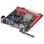 The Zotec Geforce 9300-ITX has the features of high-end boards packed into a Mini-ITX format