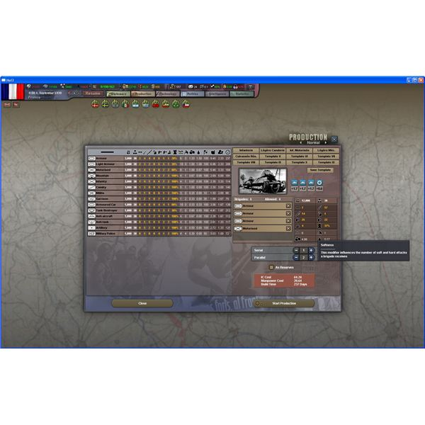 Building Divisions in HoI III
