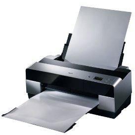 paper loaded in Epson Stylus Pro 3800