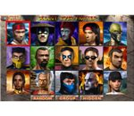 MK4 Character Selection Screen