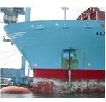 Ship Dropping Anchor